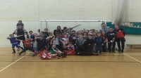 McCartan and Rodak Visit Soccer School