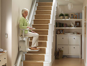 electric stair chair teal accent stairlifts free brochure discover our range lifts for straight stairs