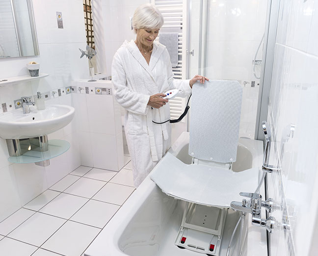 elevateurs de bain pour les personnes
