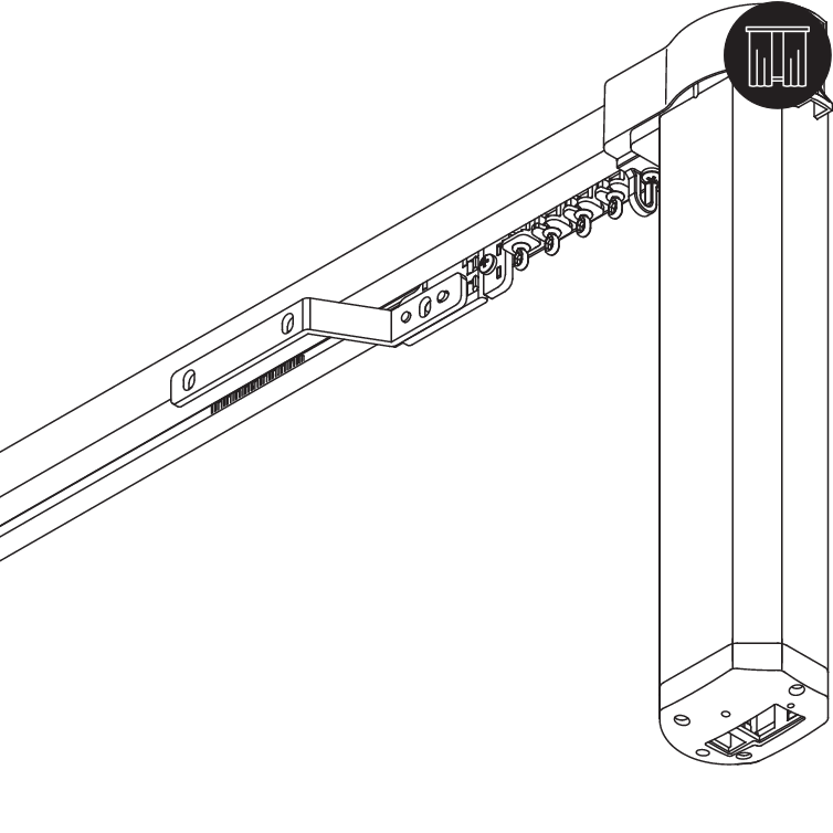 silent gliss 5600 electric curtain