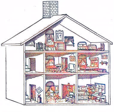 Woodwork Wooden Dollhouse Plans Free PDF Plans