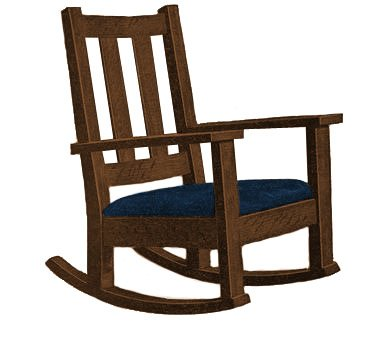 mission rocking chair plans free