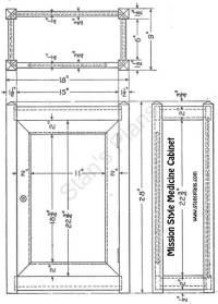 PDF DIY Woodworking Plans Medicine Cabinet Download ...