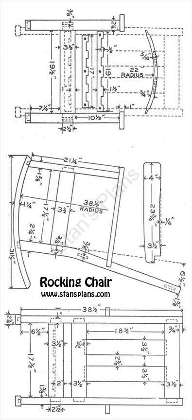 double rocking adirondack chair plans folding wicker chairs to build wooden pdf