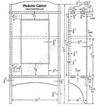 Woodwork Medicine Cabinets Plans PDF Plans