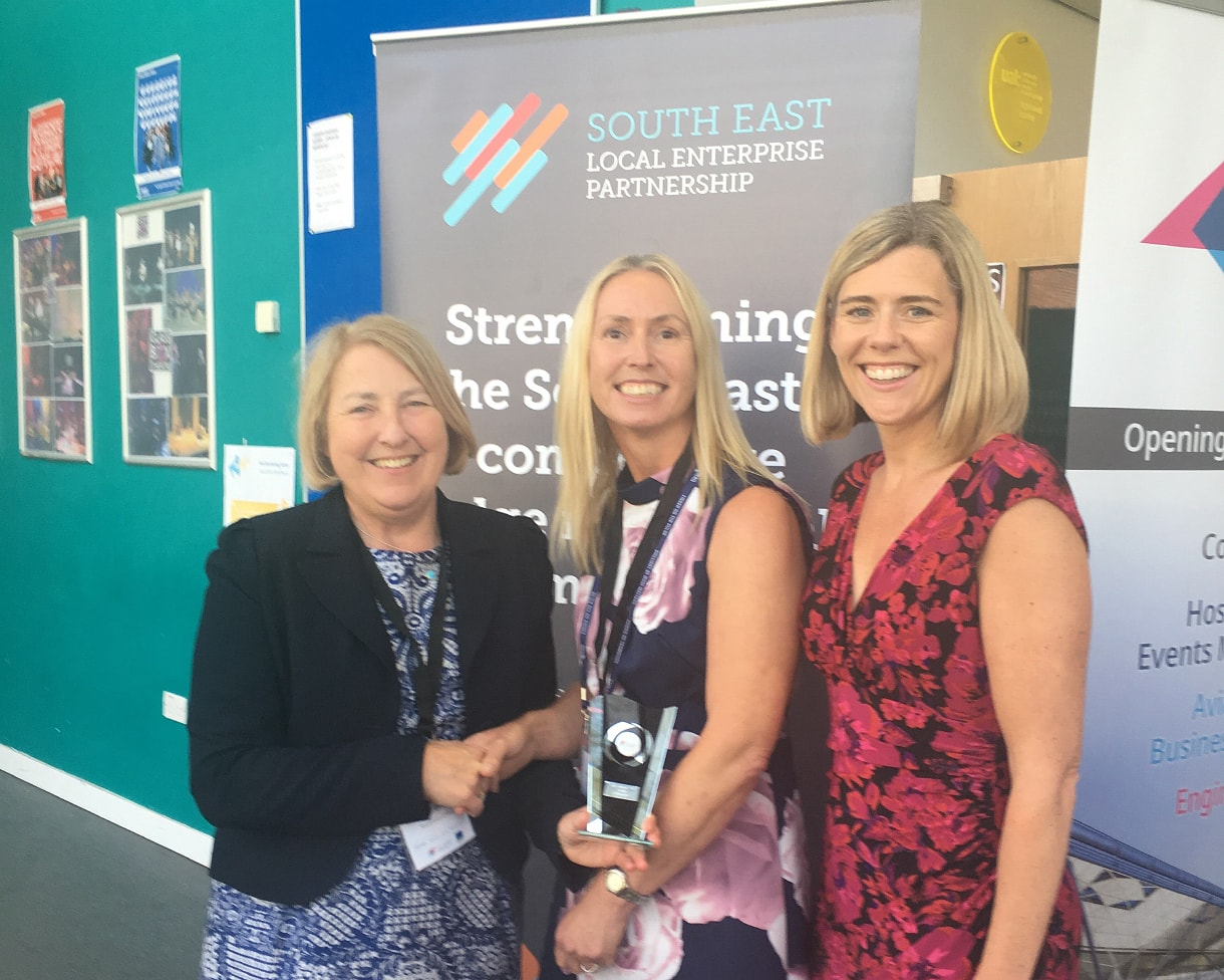 London Stansted wins Employer Skills Award at the South East Local Enterprise Partnership (SELEP) Skills Awards