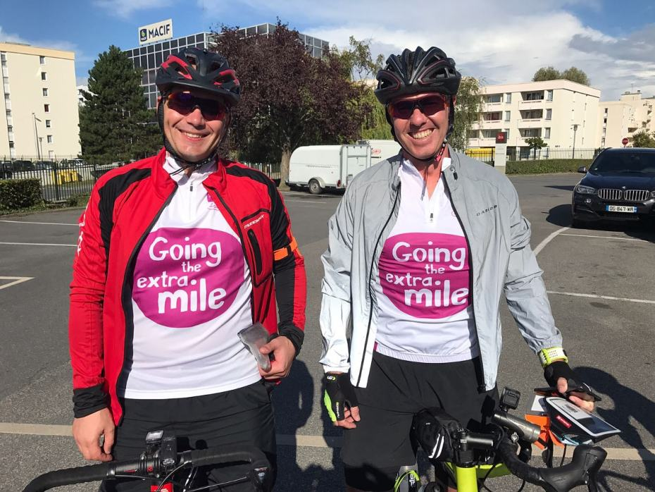 London to Paris bike ride for CLIC Sargent