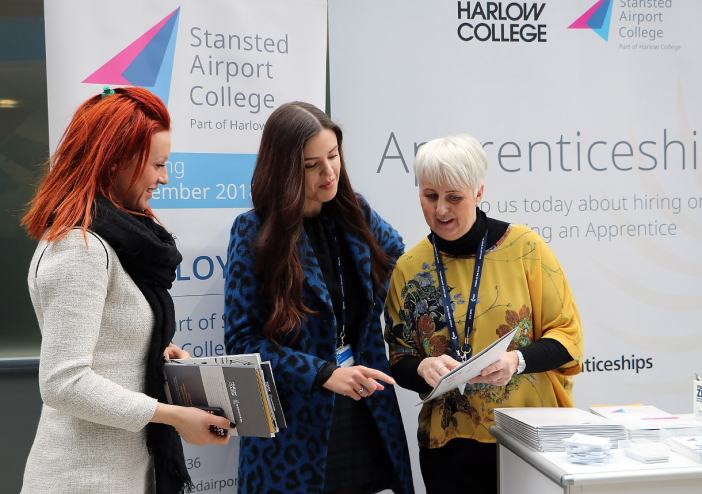 Stansted celebrates rising stars in Apprenticeship Week