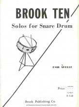 Brook Ten Solos For Snare Drum Sheet Music by Emil Sholle