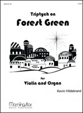 Triptych On Forest Green W/Organ Sheet Music by Kevin