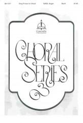 Sing Praise To Christ Sheet Music by J S Bach (SKU: 98