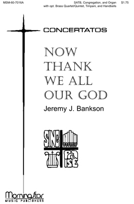 Now Thank We All Our God (Score) Sheet Music by Jeremy J
