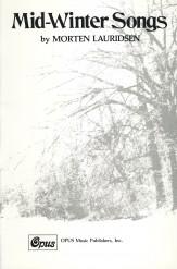 Mid-Winter Songs Sheet Music by Morten Lauridsen (SKU: 3
