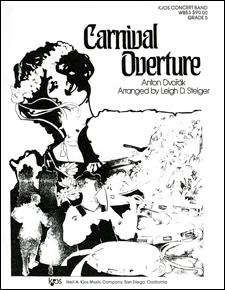 Carnival Overture Sheet Music by Antonin Dvorak (SKU: WB53