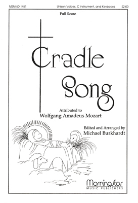 Cradle Song Sheet Music by W A Mozart (SKU: MSM50-1451