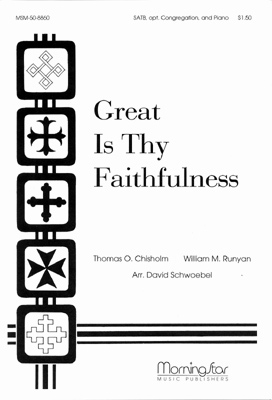 Great Is Thy Faithfulness Sheet Music by William M Runyan