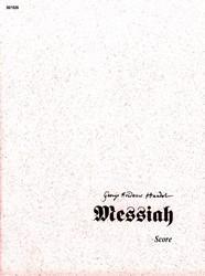 Messiah (Conductor's Score) Sheet Music by G F Handel (SKU