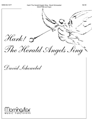Hark The Herald Angels Sing Sheet Music by David Schwoebel