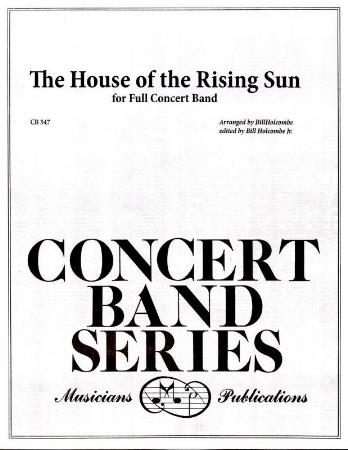 House of The Rising Sun Sheet Music by Holcombe/Holcombe