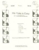 His Yoke Is Easy Sheet Music by G F Handel (SKU: SO269
