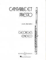 Cantabile Et Presto Sheet Music by Georges Enesco (SKU