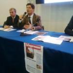 Il Prof. Prota durante la conferenza stampa