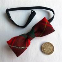 STA Online Shop. Childs Tartan Bow Tie