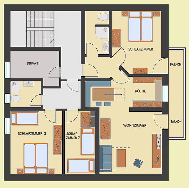 Appartement Stapfgut Urlaub Bei Freunden Grundriss Des