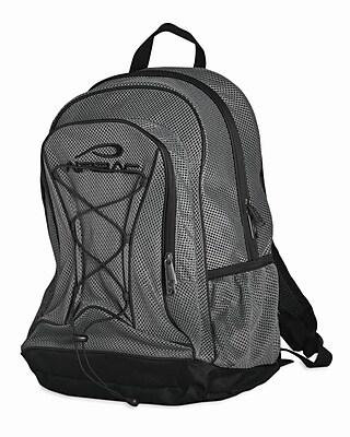 Airbac Mesh Backpack Grey  Staples