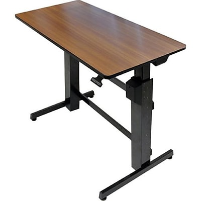 Ergotron WorkFitD SitStand Desk Black  Staples