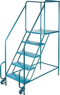 Kleton Tilt N Roll Ladders 6 Steps Staples