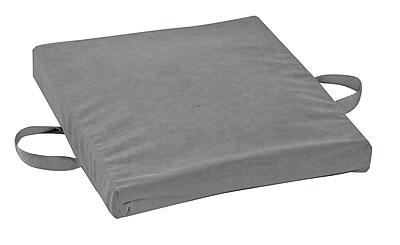 wheelchair cushion clamp on high chair dmi 16 x 18 2 gel foam flotation velour https www staples 3p com s7 is