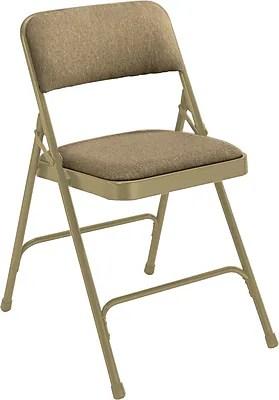 armless folding chair zeus echo gaming nps 2200 series fabric premium chairs staples