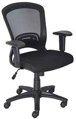 Staples Mesh Task Chair Black  Staples