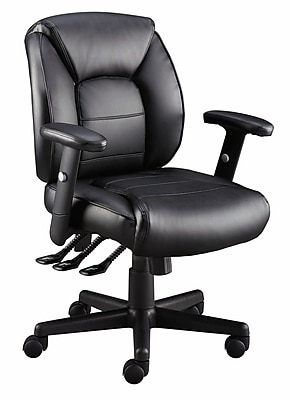 staples task chair canada swivel bushing kendros black