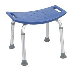 Chair Without Back Zebra Chaise Lounge Drive Medical Bathroom Safety Shower Tub Bench Blue Staples