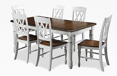 double x back chairs ergonomic chair stool home styles monarch rectangular dining table with https www staples 3p com s7 is