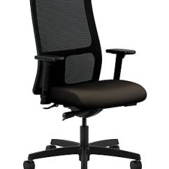 Hon Ignition Fabric Chair Swing Usa Executive Office Adjustable Arms Espresso Honiw103cu49 Staples