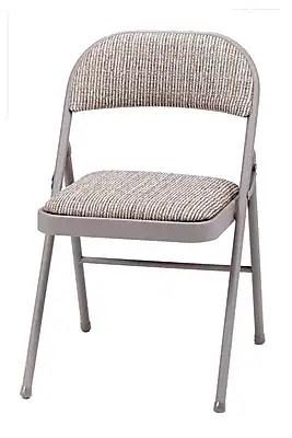 folding chair fabric green velvet swivel sudden comfort metal staples