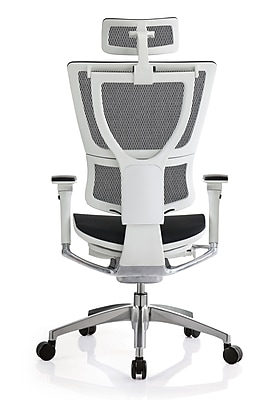 staples ergonomic mesh executive chair with headrest how to make a seat eurotech ioo white only https www 3p com s7 is