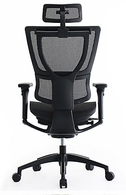 staples ergonomic mesh executive chair with headrest slipcovers for queen anne chairs eurotech ioo black only https www 3p com s7 is
