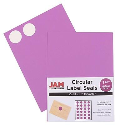 jam paper circle round