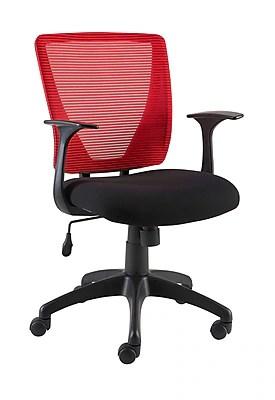 Staples Vexa Mesh Back Task Chair Red  Staples