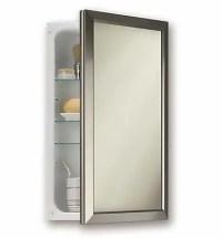 Jensen 15.75'' x 25.5'' Recessed Medicine Cabinet; Satin