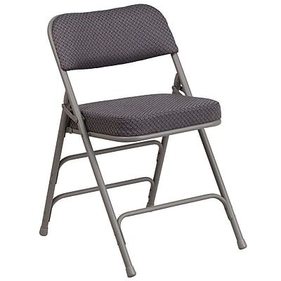 flash furniture chaise pliante hercules de luxe en metal a 3 barreaux et a 4