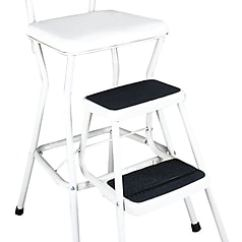 Cosco Retro Counter Chair Step Stool Jazzy Power Cover Products White With Pull Out Steps Https Www Staples 3p Com S7 Is