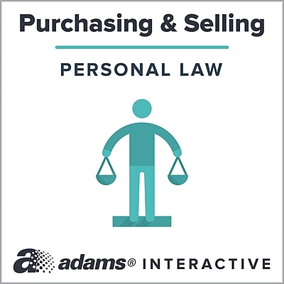Adams® Bill of Sale, 1-Use Interactive Digital Legal Form | Staples