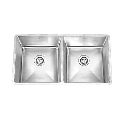 stainless steel undermount kitchen sinks sink grinder kruger gpd390 pico hg staples