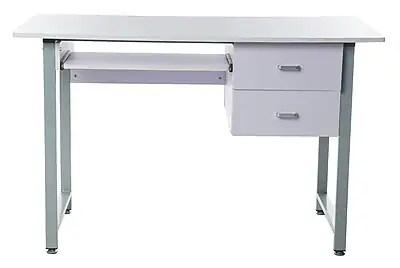 Merax Writing Desk White  Staples