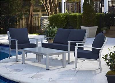 cosco ensemble de meubles de patio 4 pieces